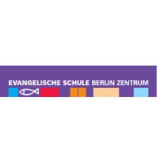 Lila Logo der Evangelischen Schule Berlin Zentrum