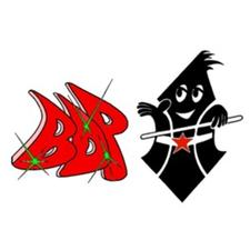 schwarz rotes Logo von BDP