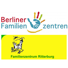 Buntes Logo des Berliner Familien Zentrums Ritterburg
