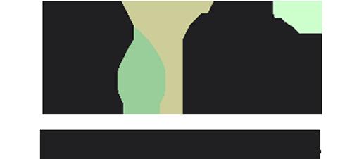 Logo des Indiwi als Wortbildmarke. Unten drunter steht ehem. Integrationsprojekt