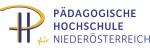 Logo der pädagogischen Hochschule Niederösterreichs.